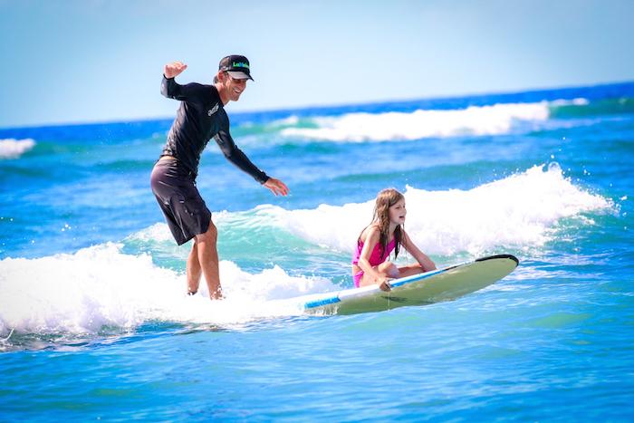 Maui Kids Surf Lessons