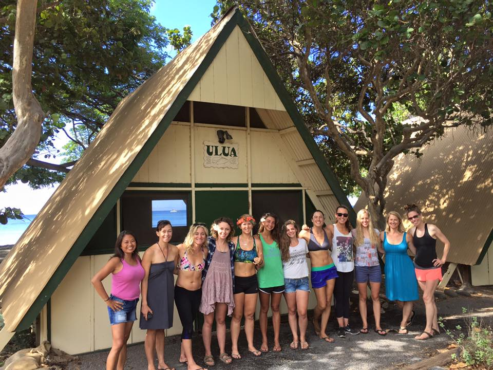 Women's Surf Camp - Maui Camp Olowalu