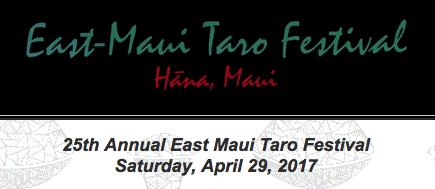 2017 Maui Event Listings