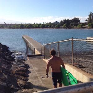 Kahului Harbor Dave Kalama SUP
