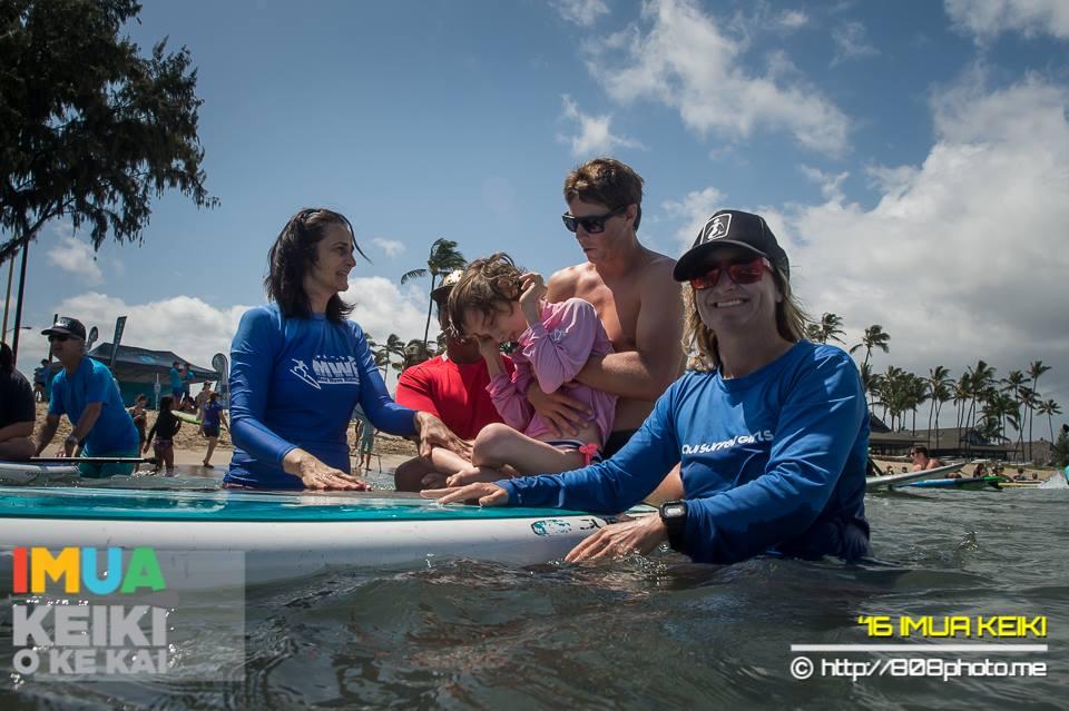 imua keiki o ke kai Dustin Tester Paddle Imua surf lessons maui autism
