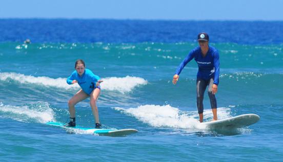 Kelly Potts Maui Surf Lessons Maui Children