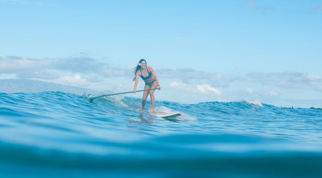 Maui Surfer Girls Kelly Potts Stand Up Paddle