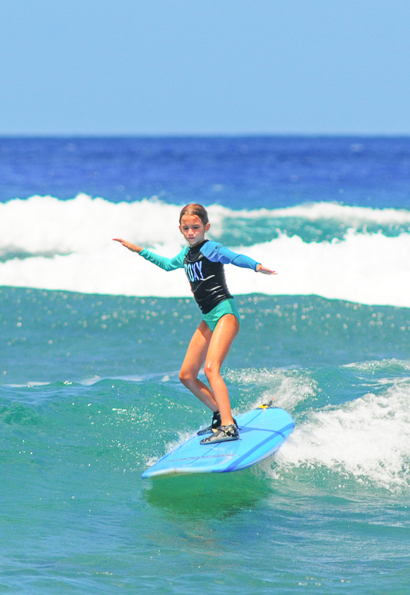 Maui Surf Lessons for Kids