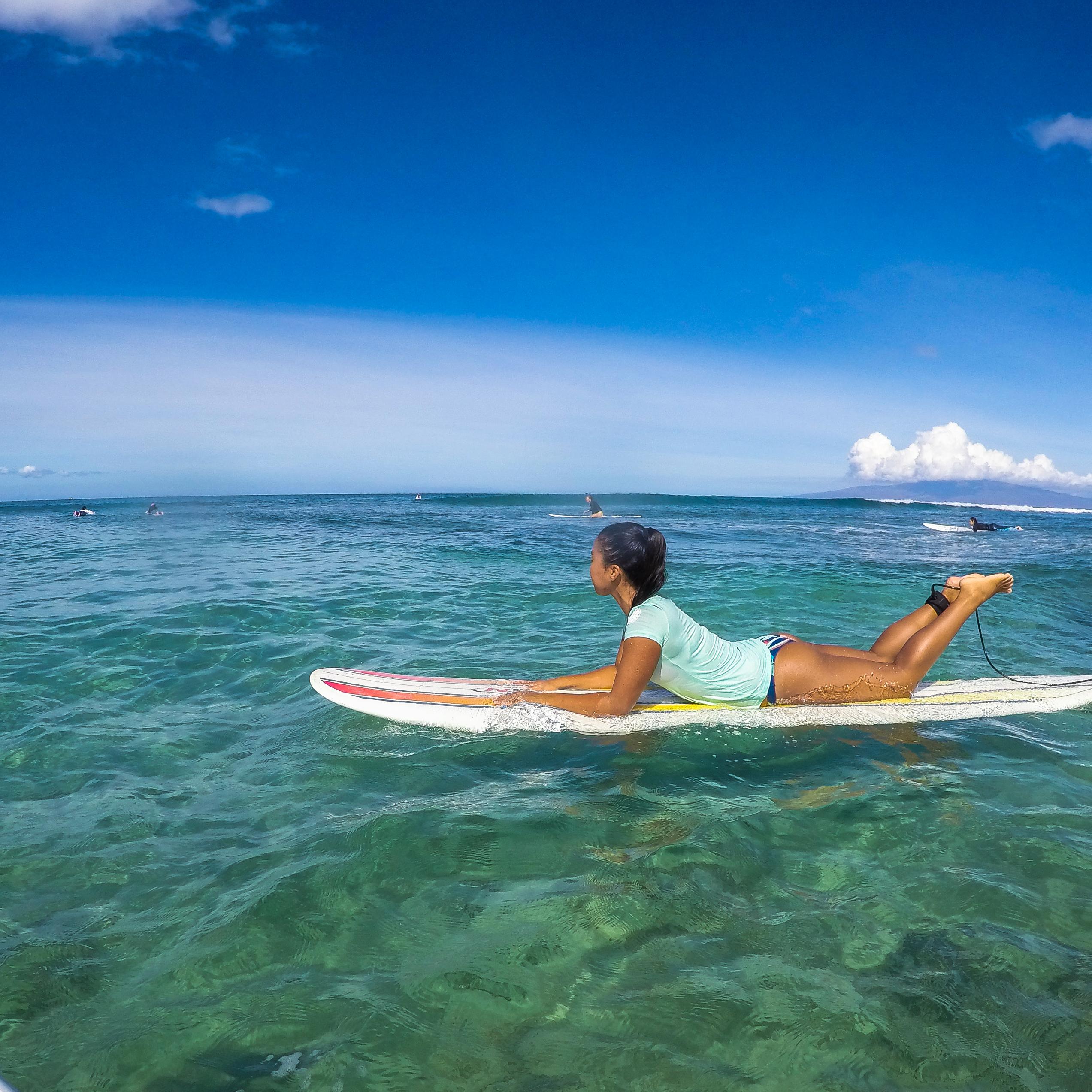 Top Ten Reasons To Join Women S Surf Camp Hawaii Maui