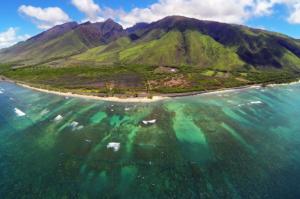 Ukumehame Thousand Peaks Drone Maui
