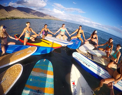 Womens Surf Camp