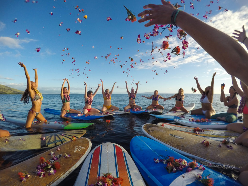 women's surf retreat