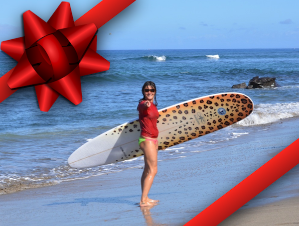 christmas surfboard custom surfboard