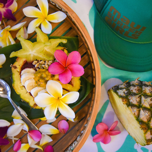 maui private chef healthy food - Women's Surf Camp Hawaii