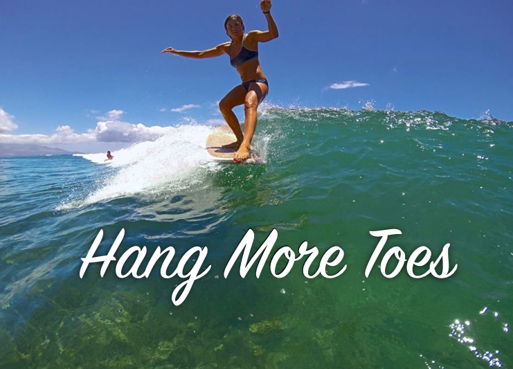 New Years Resolution - hang ten - Kelly Potts - Surfer Girl