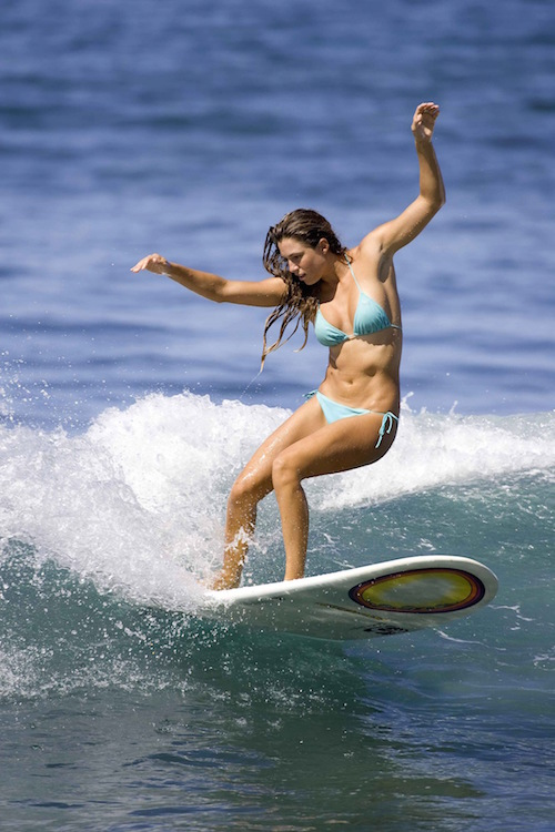 Maui Best Place to Learn to Surf Bikinis
