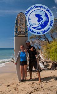 sharky maui surf instructor