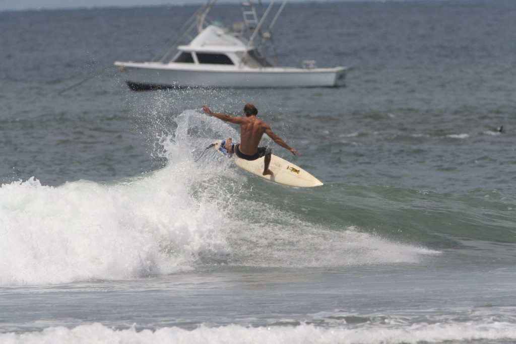 sharky surfs maui