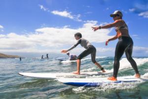 kiki maui surf lessons surf camp Maui camp
