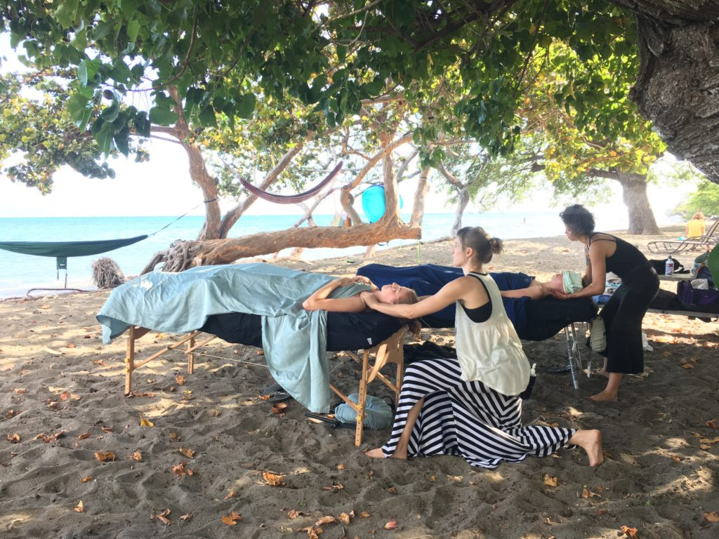 beachside massages
