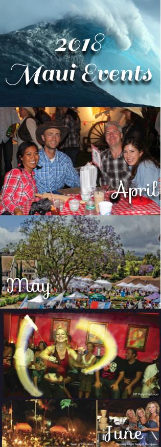 2018 Maui Events