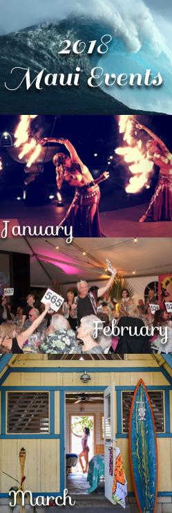 2018 Maui Events List