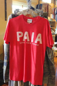 simmer hawaii paia love this town red t-shirt