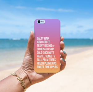 tropical phone case 2017