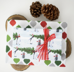 wrapping paper maui Hawaii recycled