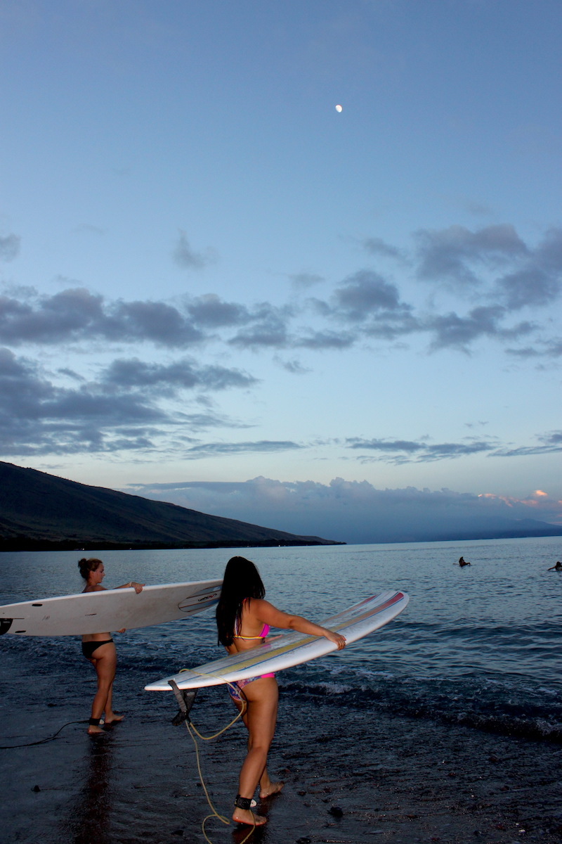 Winter Surf Camp 2018 Maui Surfer Girls