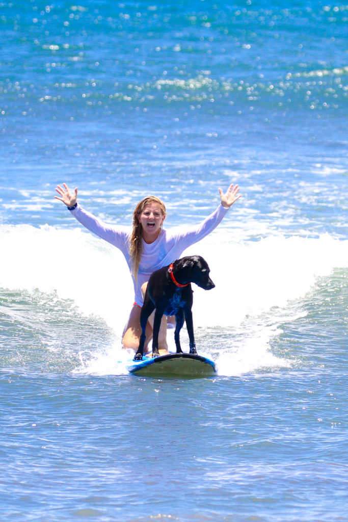 Lucy woodward maui surf lessons