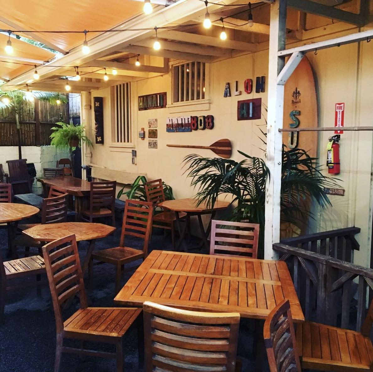 Cafe Des Amis Maui Menu