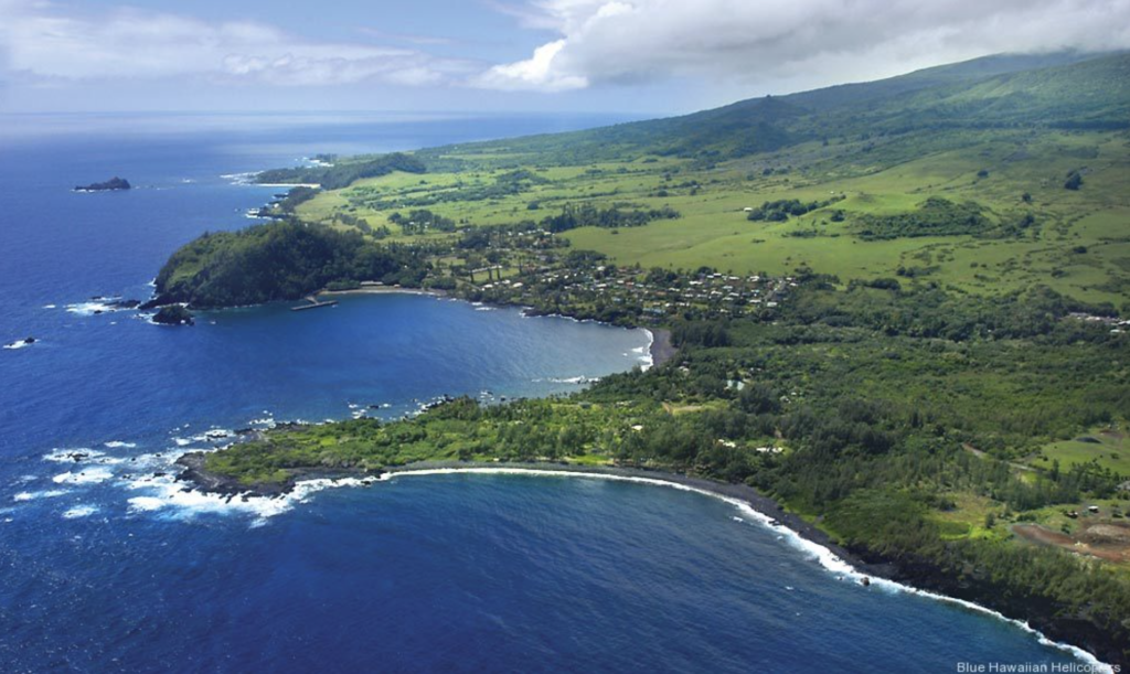 blue Hawaiian helicopters Hana Tour