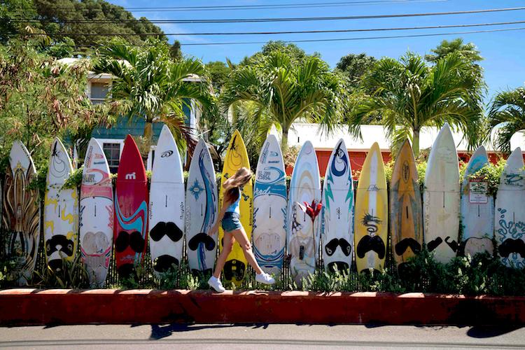 Paia Maui Surfboard Fence Blake Bronstad