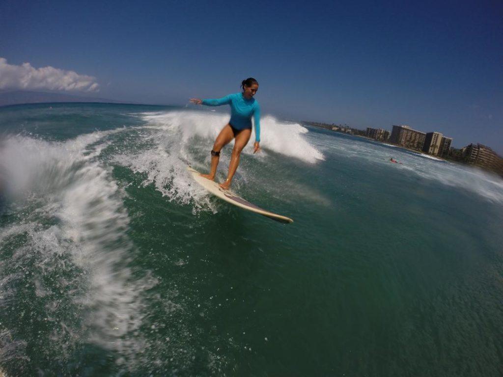 carole maui surf instructor