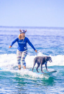 Lucy halloween surfing costume