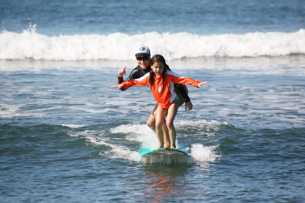 maui tandem surfing