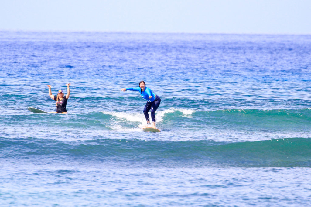 surf camp experience surf lesson maui