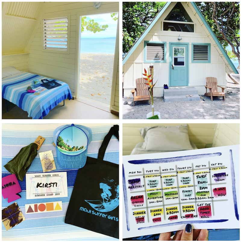 maui camping rentals surf camp location reviews experience