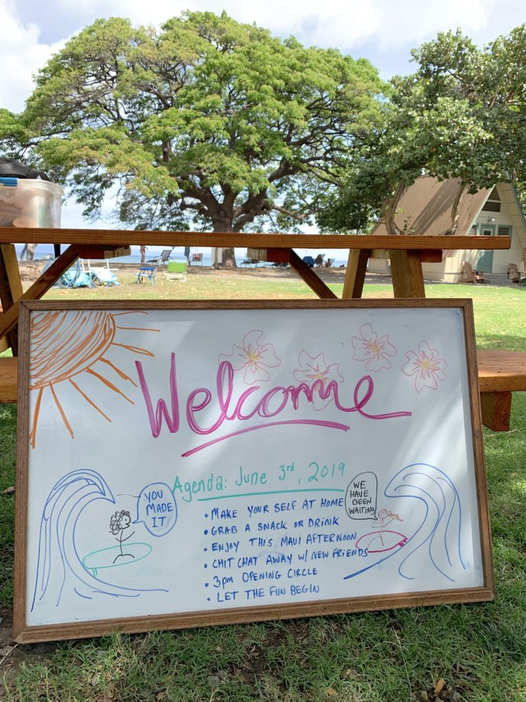 maui summer camp welcome