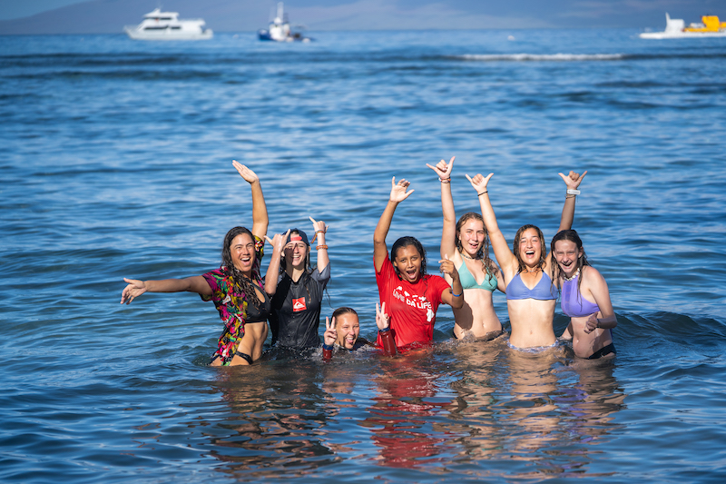 Kelly Potts Maui Teen Surf Camp