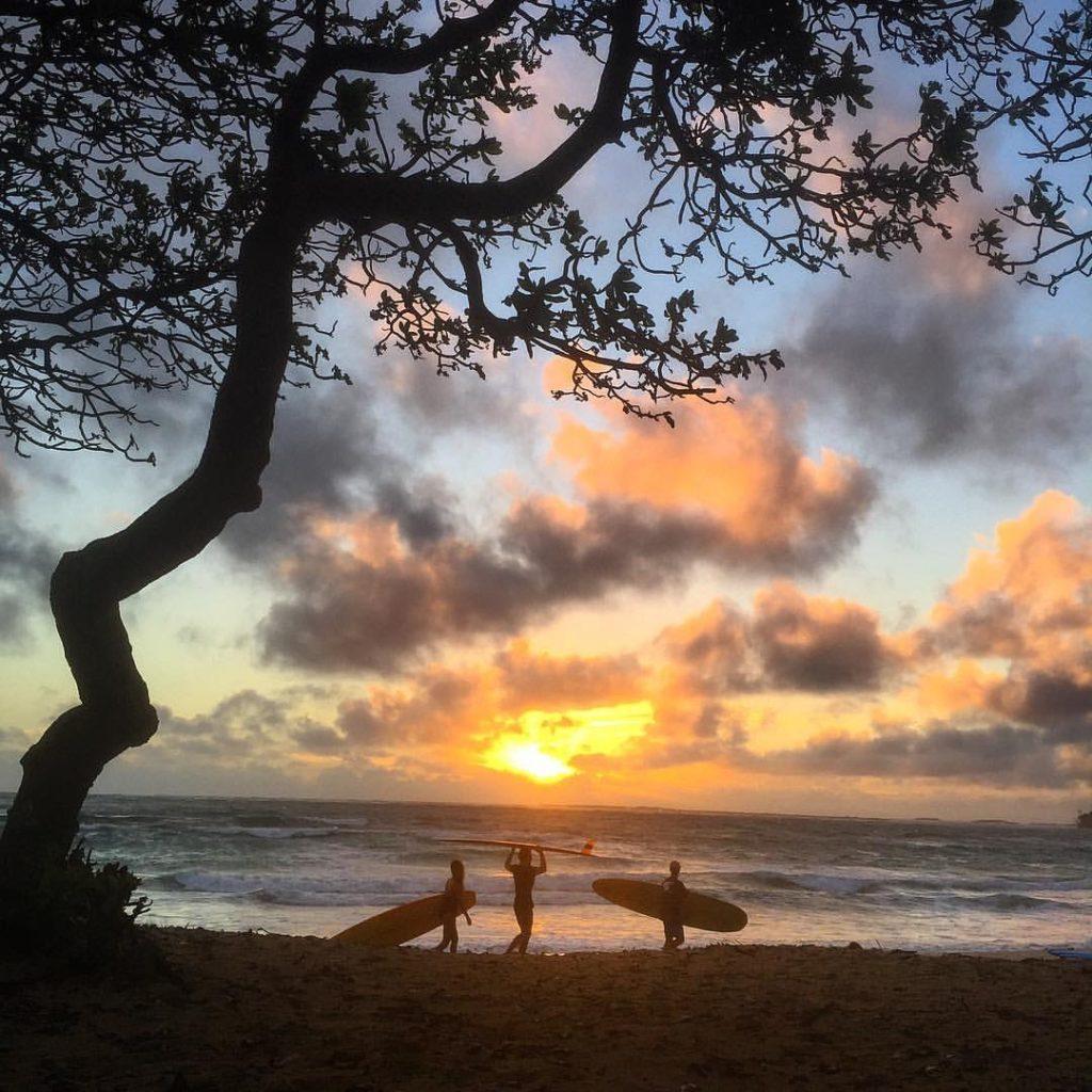 Castles surf beach Oahu