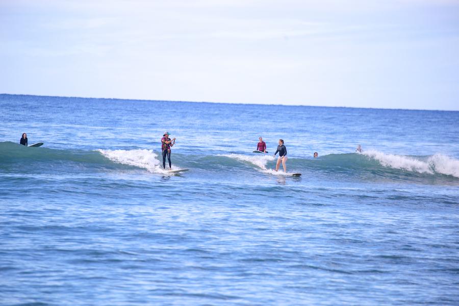 Kelly Potts surf coach